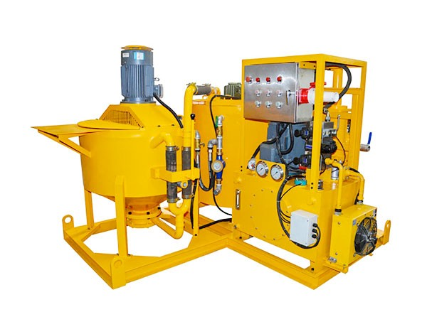 WGP400/700/80PL-E Grout Mixing Equipment for Underwater Foundation