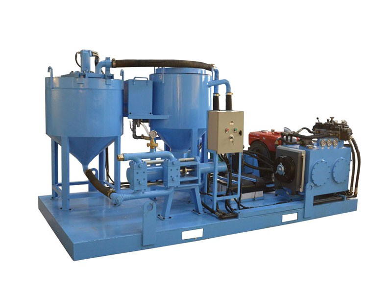WGP250/350/100PI-D mixer grouting plant for subway