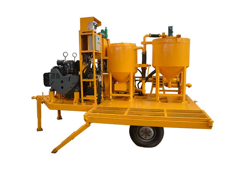 WGP200/300/100PI-D grouting injection plant for sale