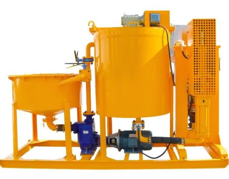 WGP250/700/75PI-E Grout Inject Station for Tunnel Grouting Work