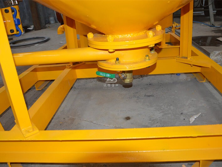 details of grout mixer