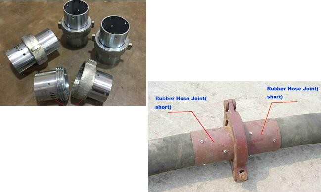 Coupling and clamp